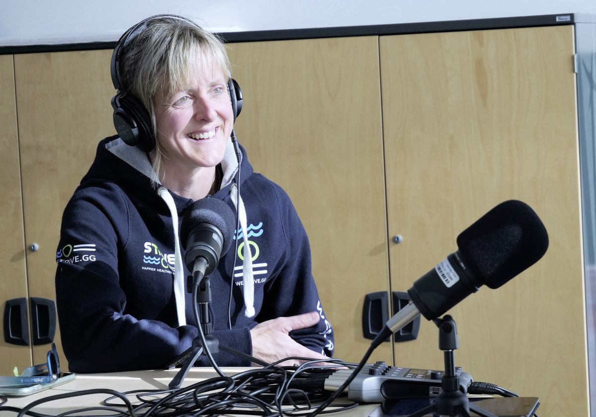 Triathlete Amy Critchlow is one of the guests on this week's Guernsey Press Sport Podcast. (29413799)