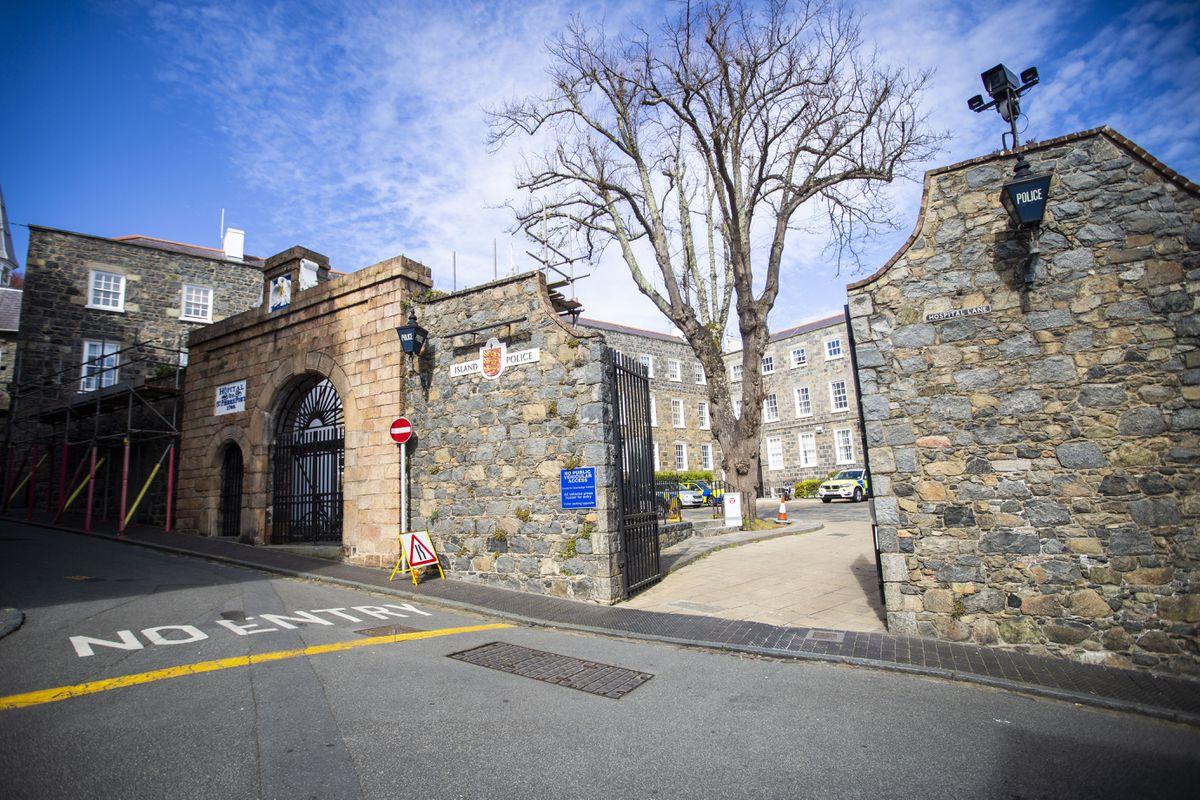 St Peter Port Police Station. (29175037)