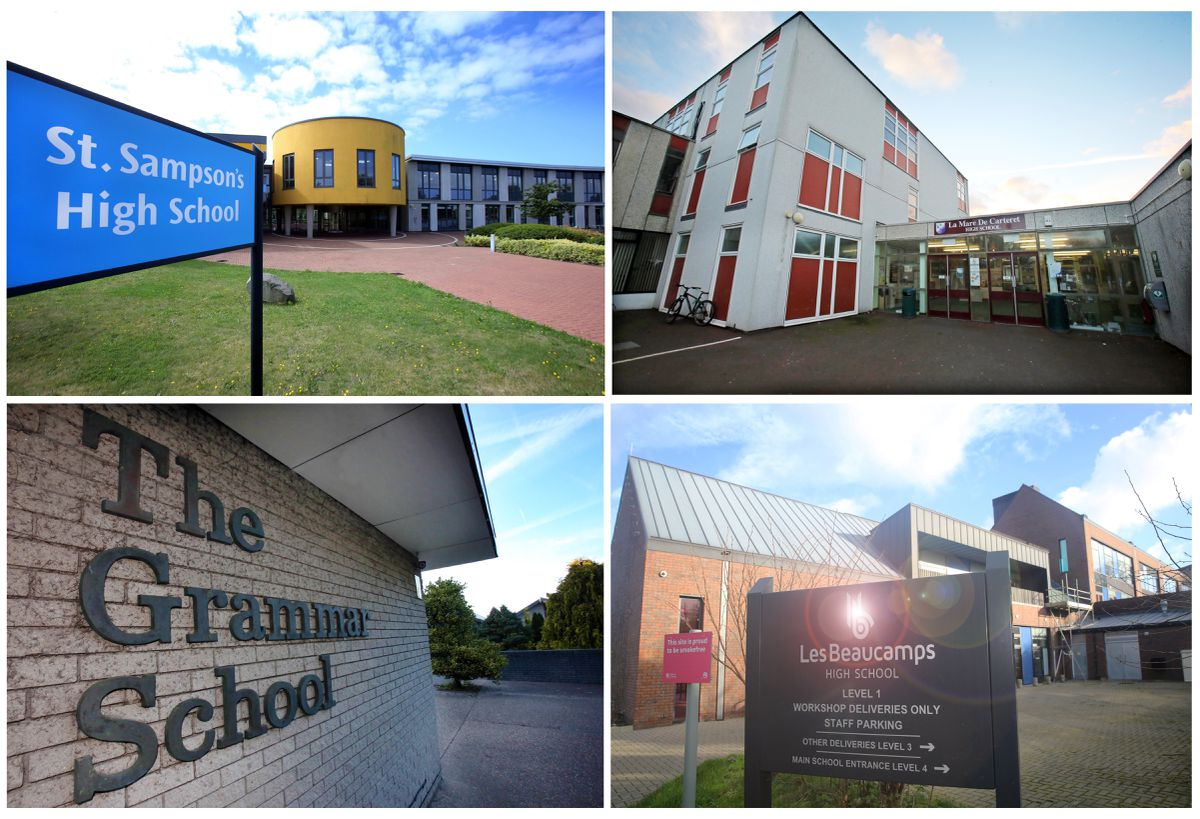 Picture By Steve Sarre 29-12-17.Four School montage Education story. (29747680)
