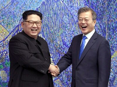 North and South Korean leaders meet again to discuss US summit