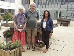The people behind the Hope Carers Choir, left to right, hospital chaplain the Rev. Linda Le Vasseur, musical director Andrew Warren, and Guernsey Mind community groups co-ordinator Jill Chadwick. (29967831)