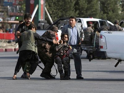 Afghan vice-president unhurt in Kabul airport blast which killed 14