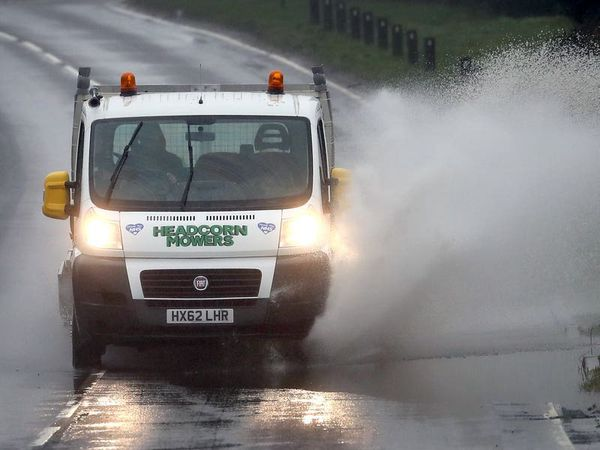 Britons warned of flooding as forecasters predict heavy rain to move in