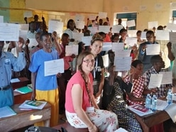 Children of Scots aid worker gain perspective after Uganda trip
