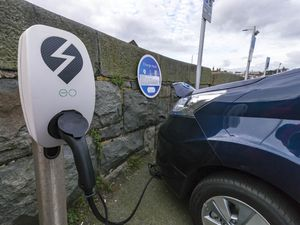 Picture By Steve Sarre 10-01-18.North Beach car park .electric car charging parking space Generic. (29594602)