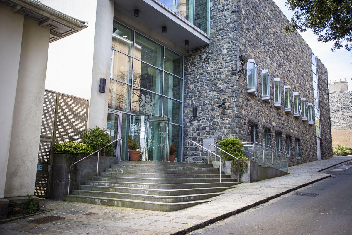Guernsey's court building in St James Street, St Peter Port. (29512239)