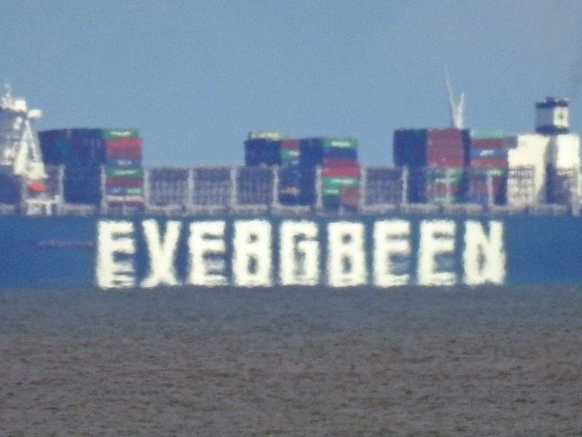 Ever Given prepares to dock in the UK – four months later than planned