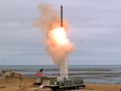 Pentagon conducts first test of previously banned missile