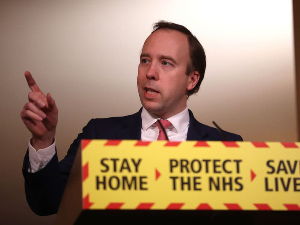 NHS 1% pay rise is not a cut, Hancock says