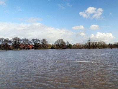 Homes evacuated in Monmouth after severe flood warning issued