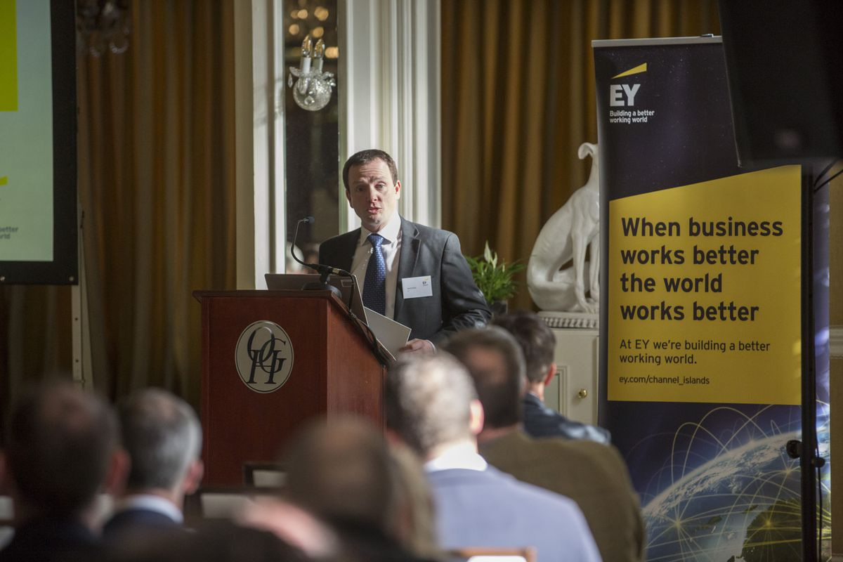 EY's Guernsey Head of Tax, David White. (Picture By Peter Frankland, 28924569)
