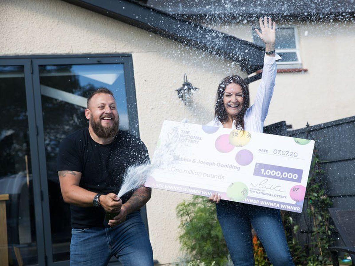 No way! Lottery winner's 'goosebump-raising' call released