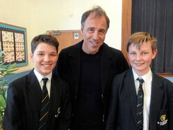 Best-selling author accepts St Anne's pupils' invite