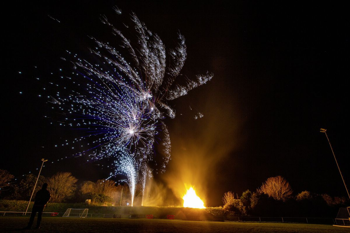 The bonfire night celebrations at Northfield. (Pictures by Sophie Rabey, 28882185)