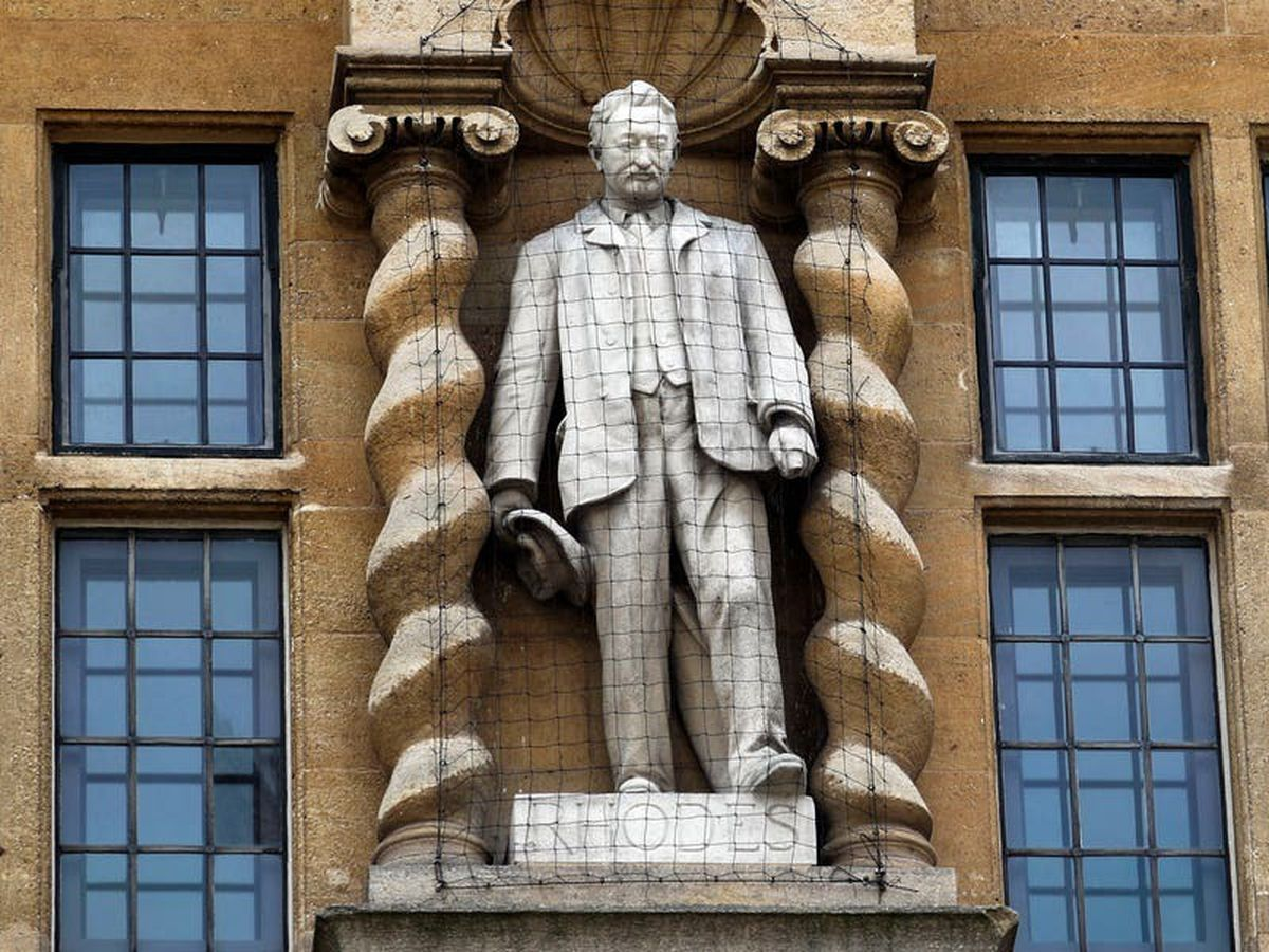 Oxford college should place 'Sorry' sign on Cecil Rhodes statue, says academic