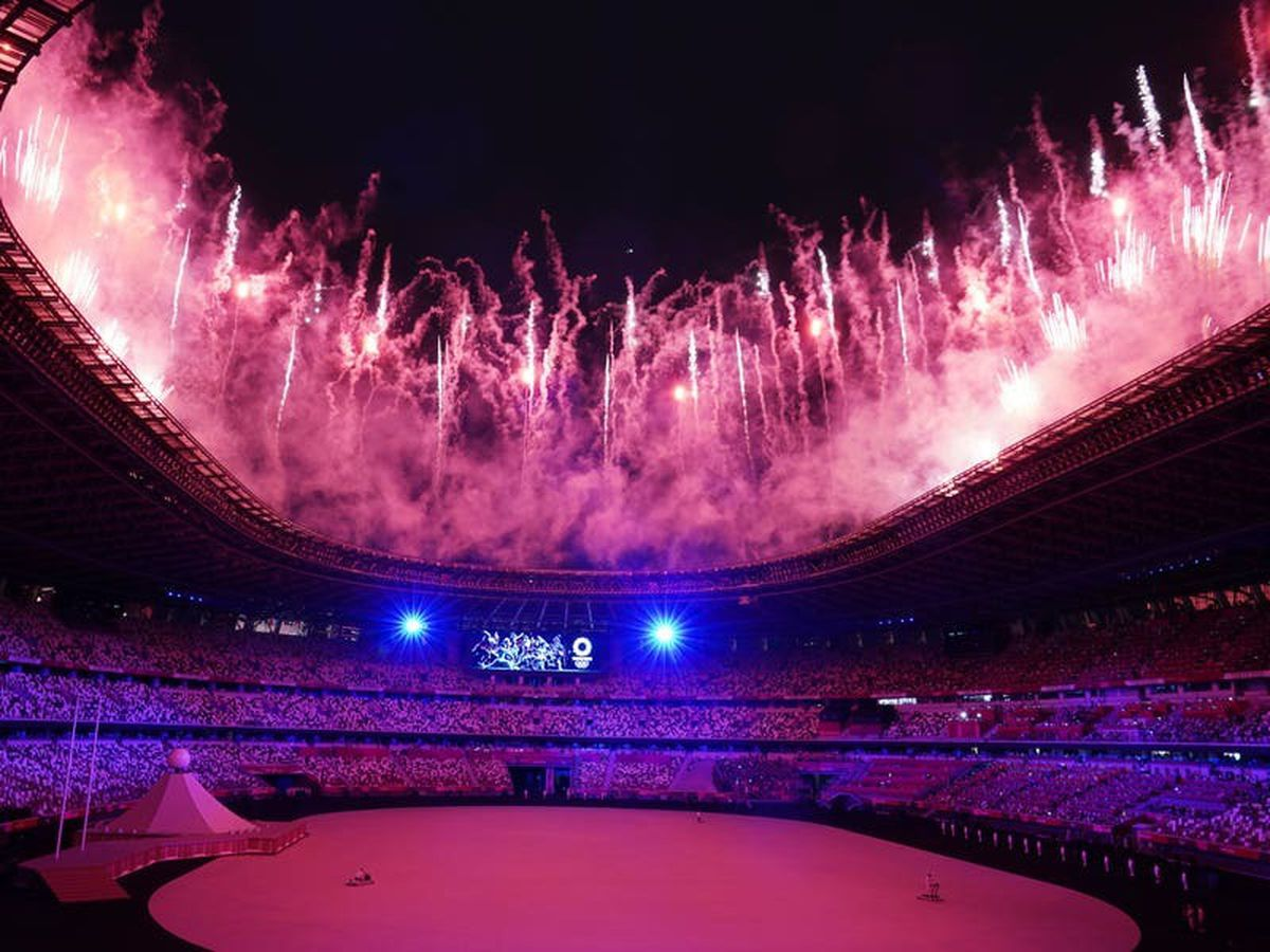 Drones, protests and poignant tributes – how the opening ceremony played out