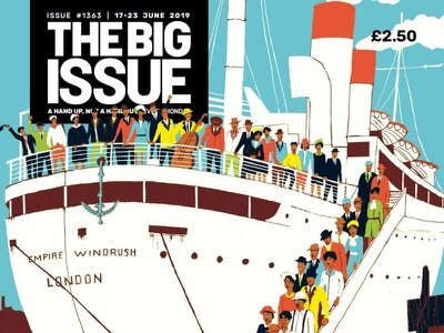Floella Benjamin guest edits Windrush edition of the Big Issue