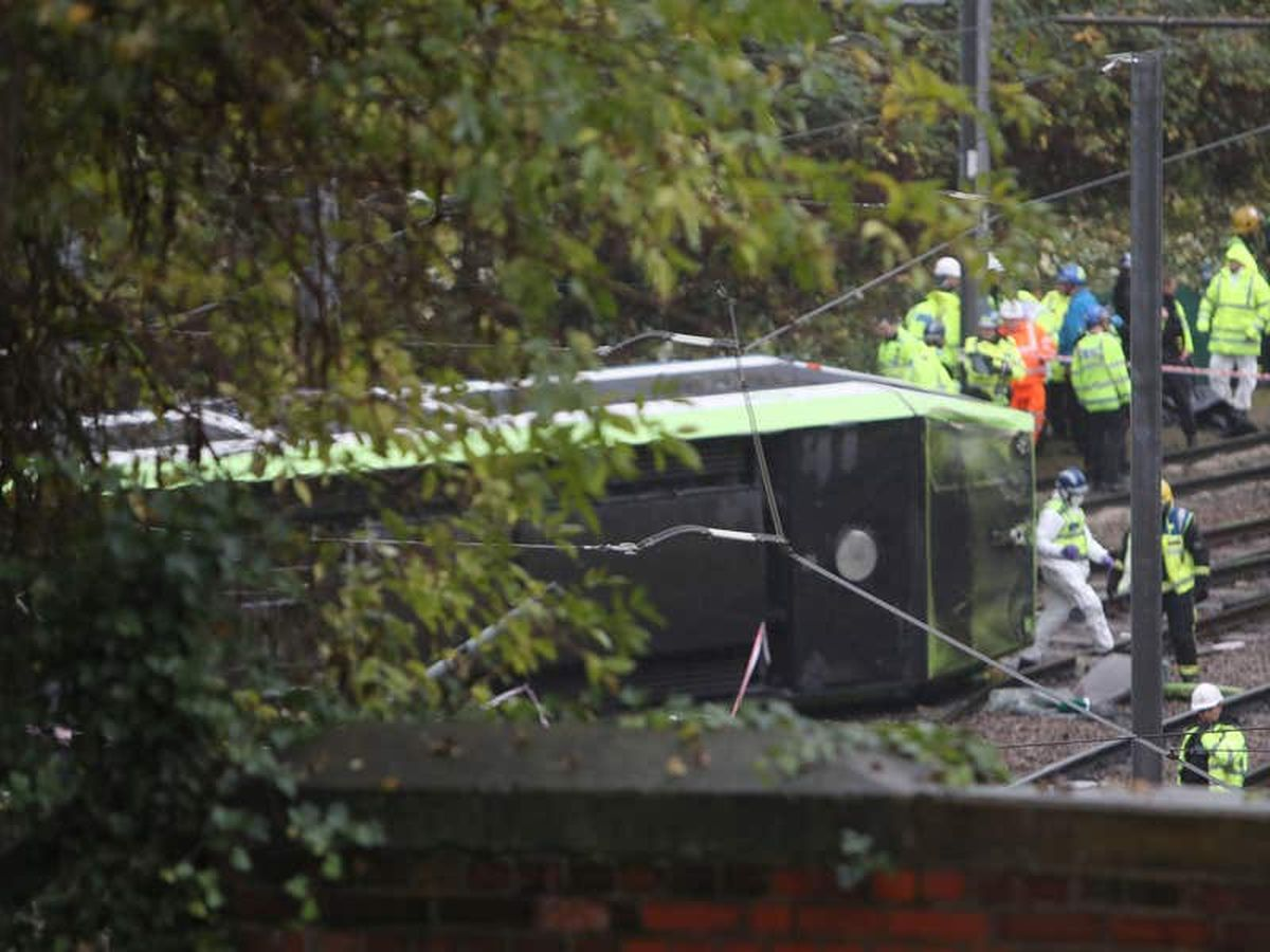 Anger as inquest jury rules that Croydon tram crash victims died accidentally