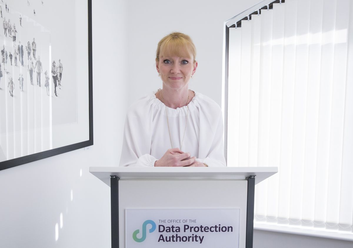 Data protection commissioner Emma Martins. (Picture by Adrian Miller, 25896697)