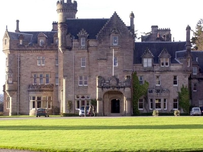 Guests moved as firefighters tackle Skibo Castle blaze