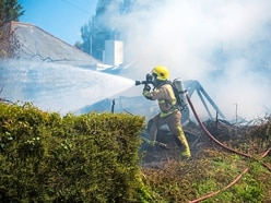 Blaze destroys family's treasured possessions
