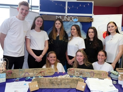 Winning youth enterprise team heading to UK finals