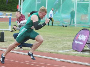 Josh Allaway won Island Games silver in the 100m at Gotland 2017 and will hope to qualify for Gibraltar 2019. (Picture by Adrian Miller, 19557320)