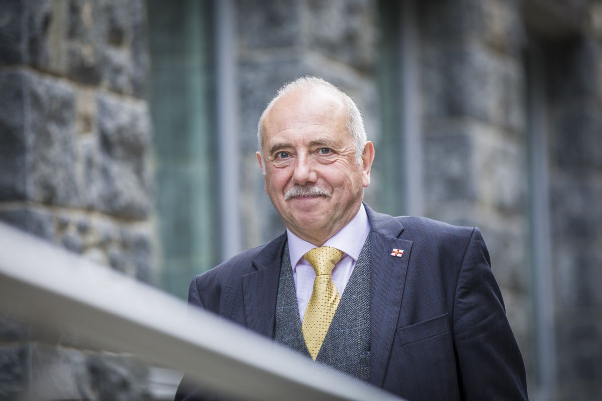 Health & Social Care president Al Brouard. (Picture by Sophie Rabey, 28912967)