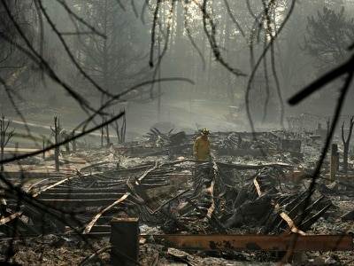 Search for hundreds listed as missing in California wildfires