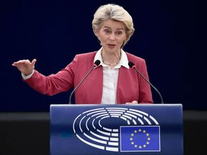 Europe must cut reliance on natural gas, warns Ursula von der Leyen