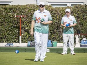 Bowls Guernsey president Garry Collins. (Picture by Sophie Rabey, 29711634)