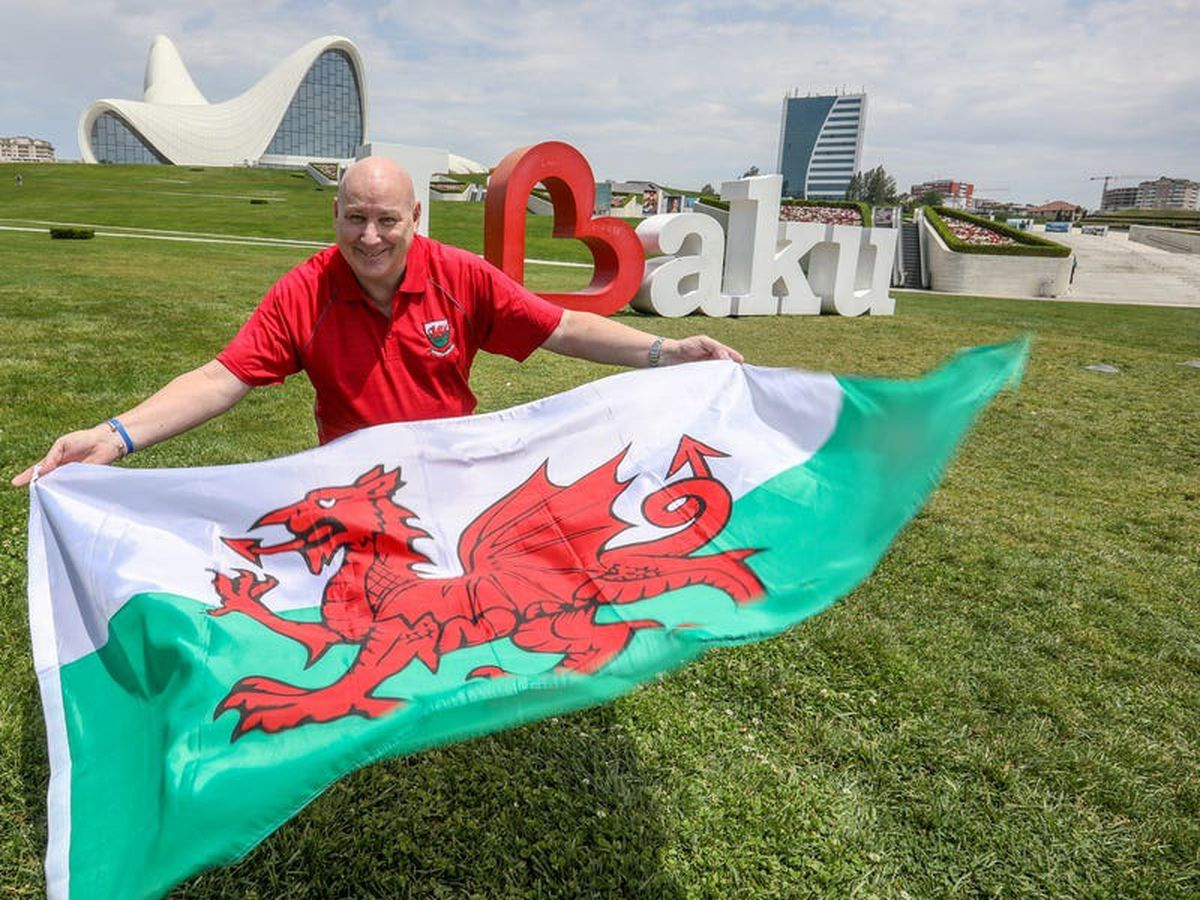 Welsh football fan in Baku unable to attend team's Euro 2020 matches