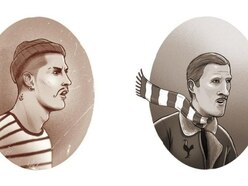 Check out these illustrations of current footballers in jobs from time gone by