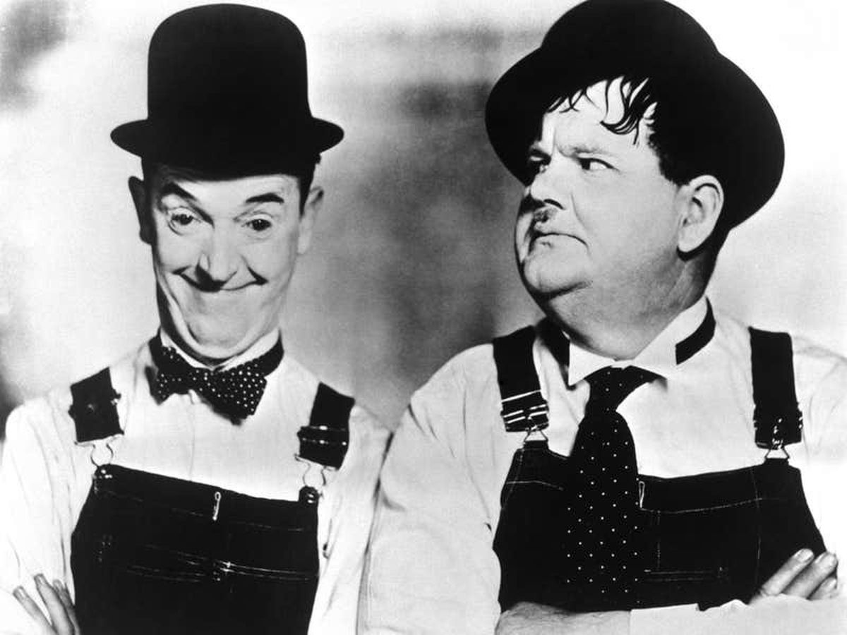 Couple devastated after life-sized Laurel and Hardy statues stolen