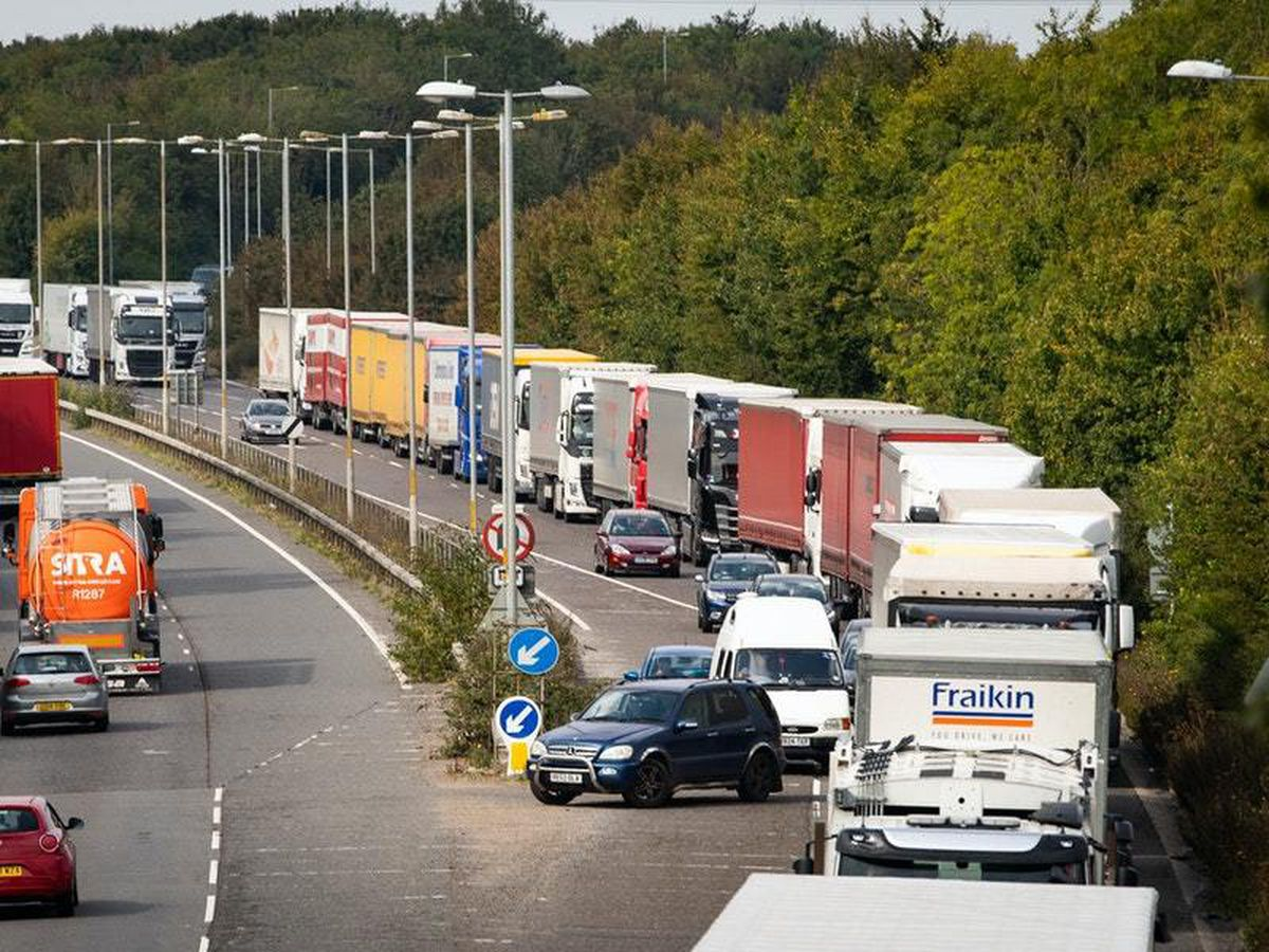 Legislation brought forward to fine lorry drivers who enter Kent without permit