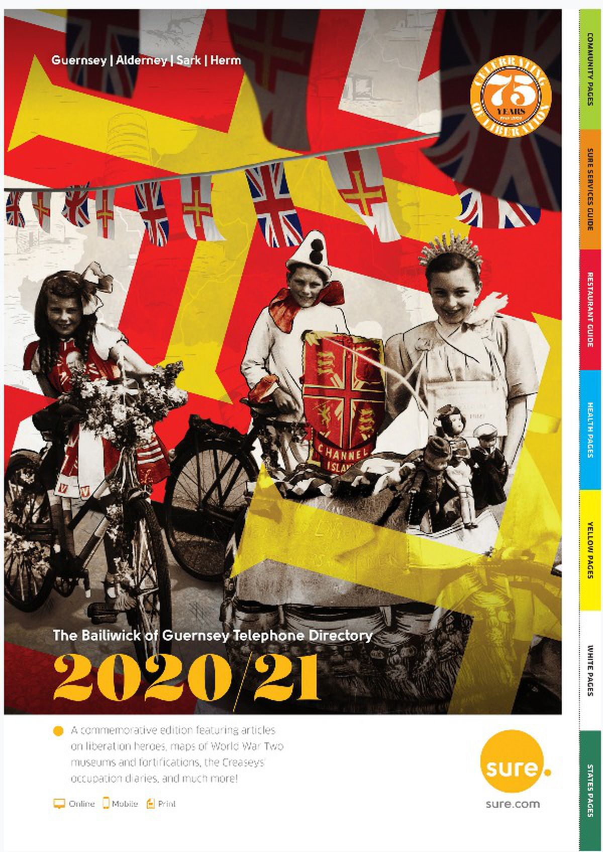 The Sure 2020/21 directory is available from Monday.
