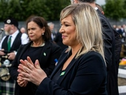 DUP calls for Michelle O'Neill to step aside over funeral attendance