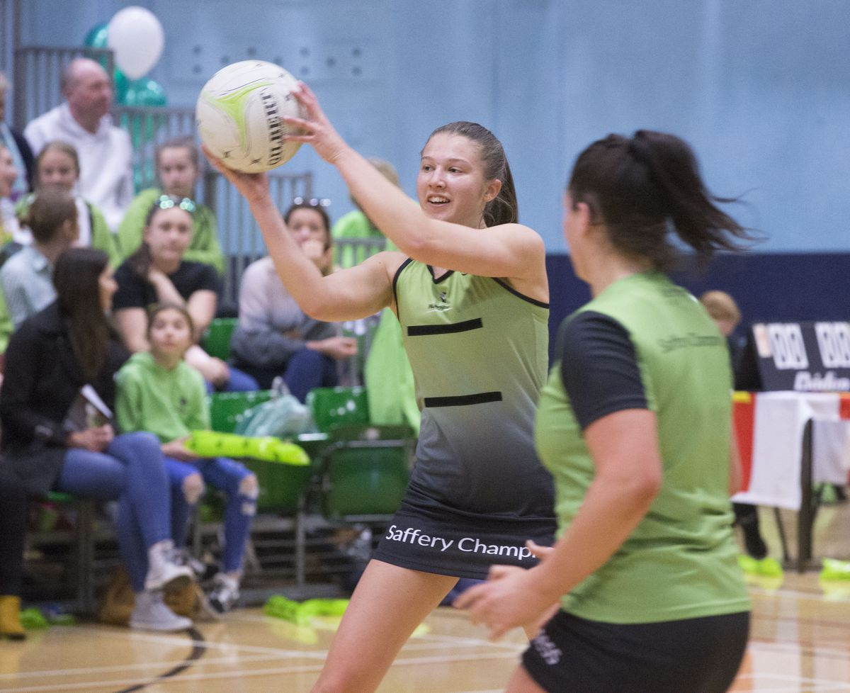 A star player for her island Amy Fallaize now has the big task of taking her No. 1 sport forward. (29907385)