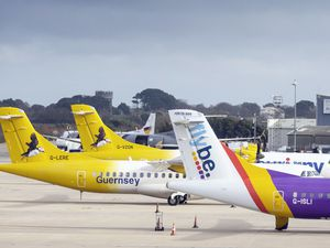 Aurigny has started competing with Blue Islands to Jersey and Southampton this summer, but it is the States' subsidy of Flybe to operate a Heathrow service which concerns chairman Andrew Haining. (Picture by Peter Frankland, 25244419)