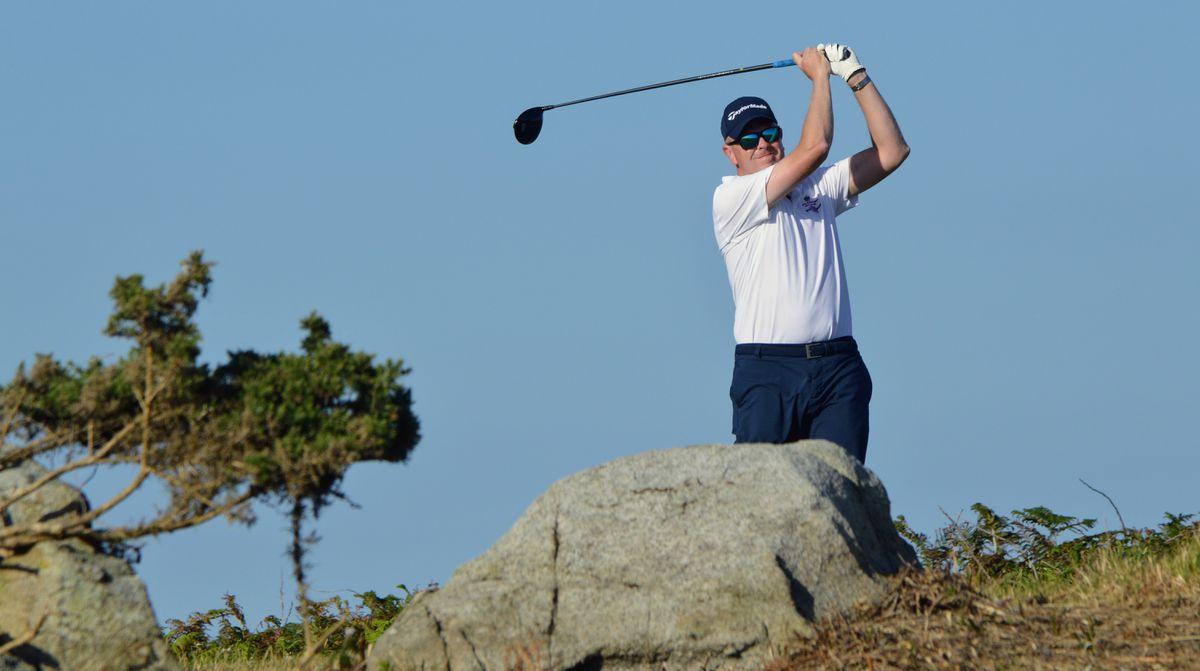 Island men's golf team captain Dave Jeffery. (Picture by Gareth Le Prevost, 29546370)