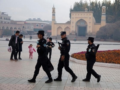 China says internment camps for Muslims are 'free vocational training'