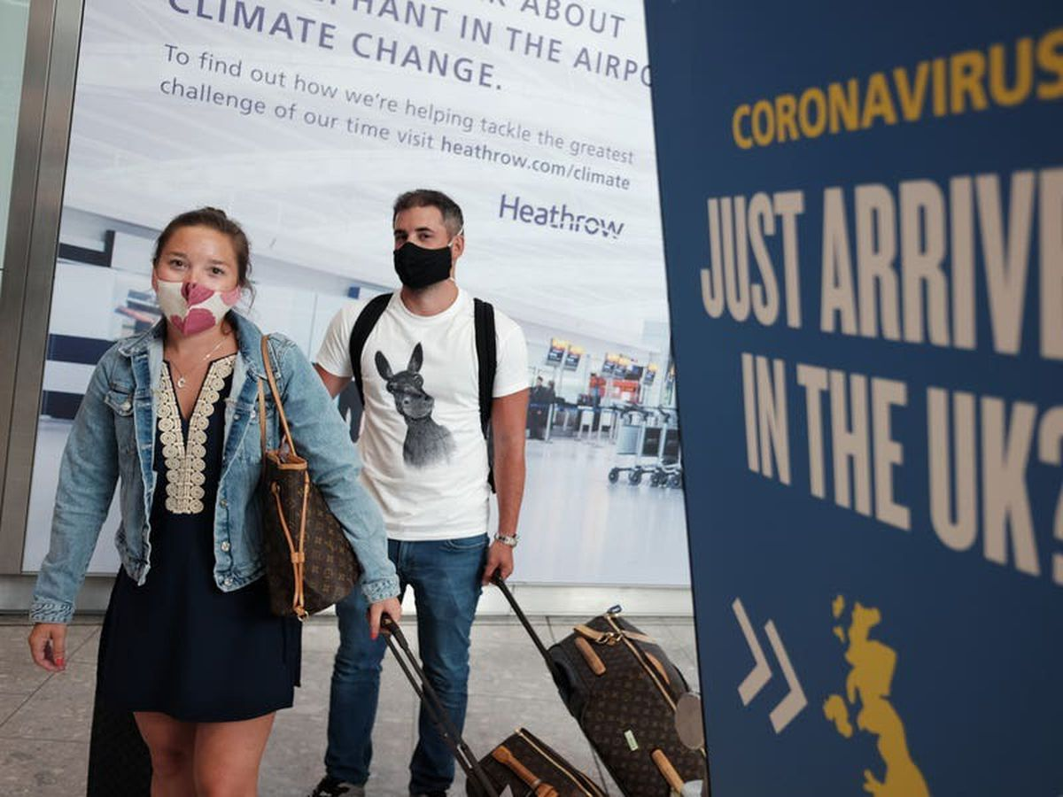 Travellers from South America banned amid fears over new Covid variant