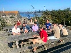 Lihou castaway experience for DofE group