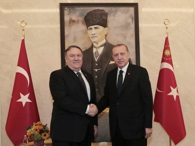 Pompeo meets Turkish leaders as account of 'Saudi writer's murder' published