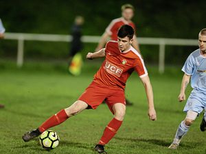 Sylvans' Luke Staples on the ball in the midweek FNB Priaulx League game at Northfield. His club had sufficient selection options in midweek but could not raise a side for today's scheduled game in Alderney. (Picture by Steve Sarre, 23885165)