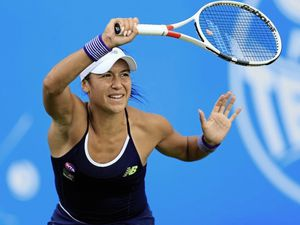 Heather Watson has to go through qualifying at the US Open this year. (Picture by Nigel French/PA Wire, 22331785)