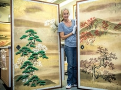 Centuries-old Japanese screens restored