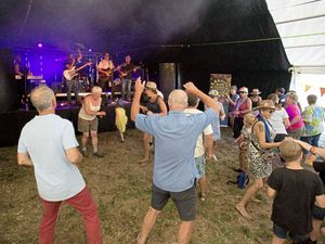 Return of the good times? Sarkfest was last held in 2019 and is due to be back in July. (Picture by Sue Daly)