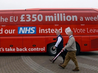 NHS to get extra £384 million per week after Brexit Government says