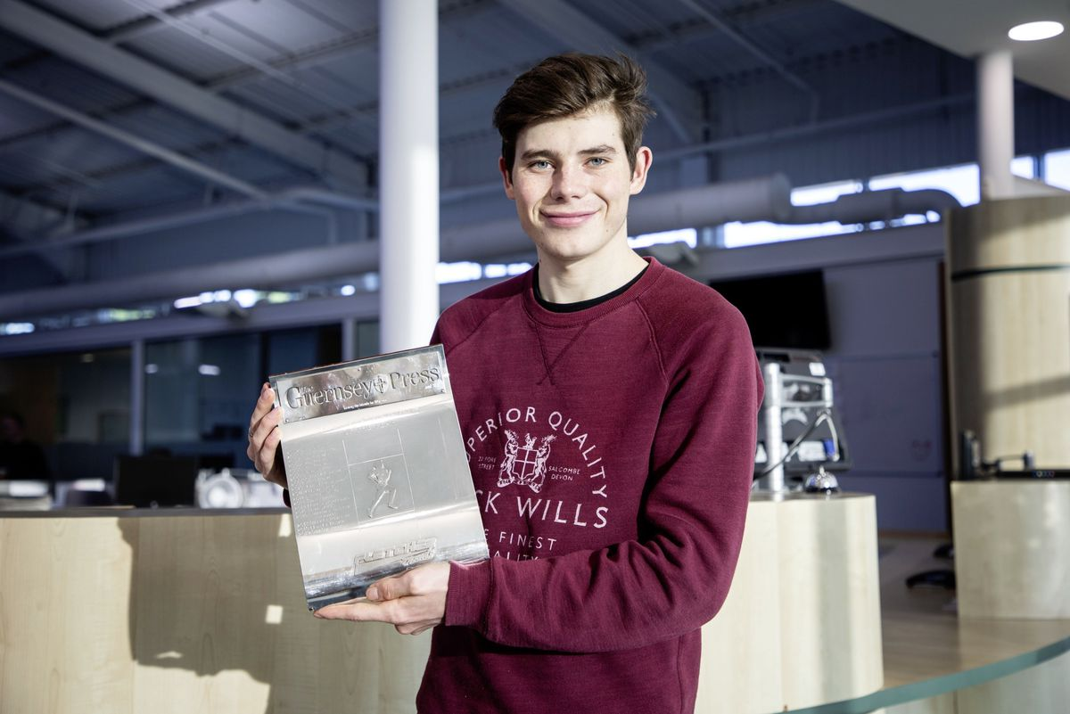 Cyclist Sam Culverwell is the winner of the Guernsey Press Sporting Achievement Award for 2019. (Picture by Sophie Rabey, 26786516)
